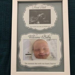First Peek/Baby frame, NEW